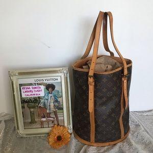 Authentic vintage Louis Vuitton Bucket GM